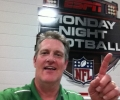 Thomas Crocker Live Working NFL Monday Night Football